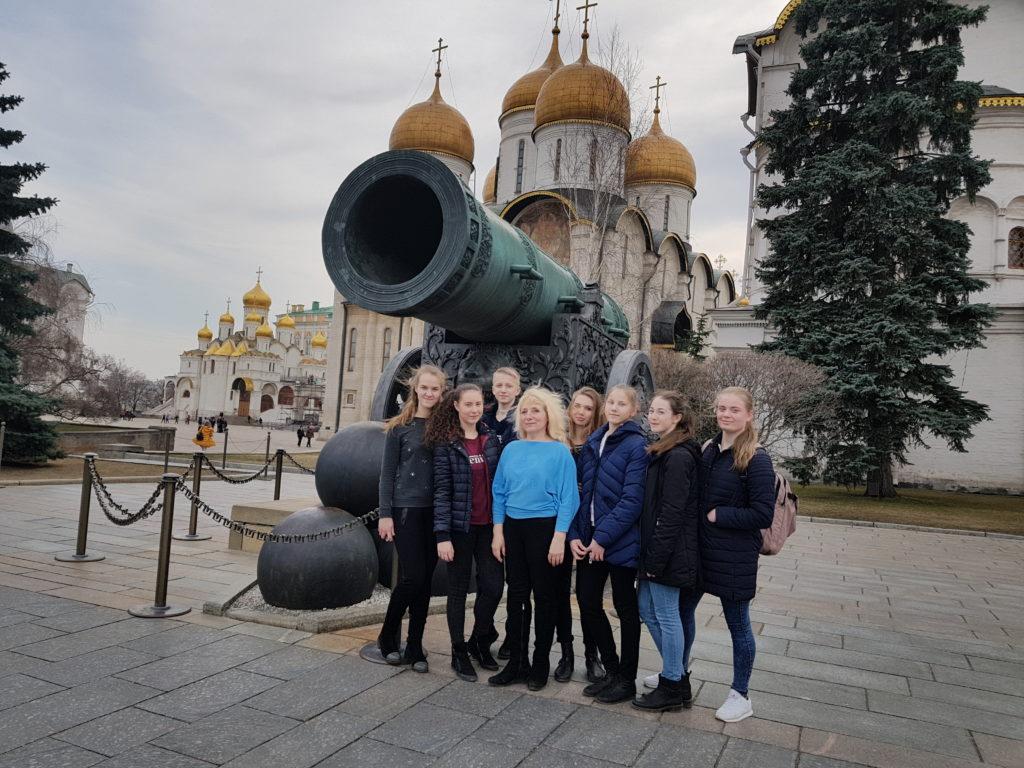 команда Сланцевской ДЮСШ на Красной площади