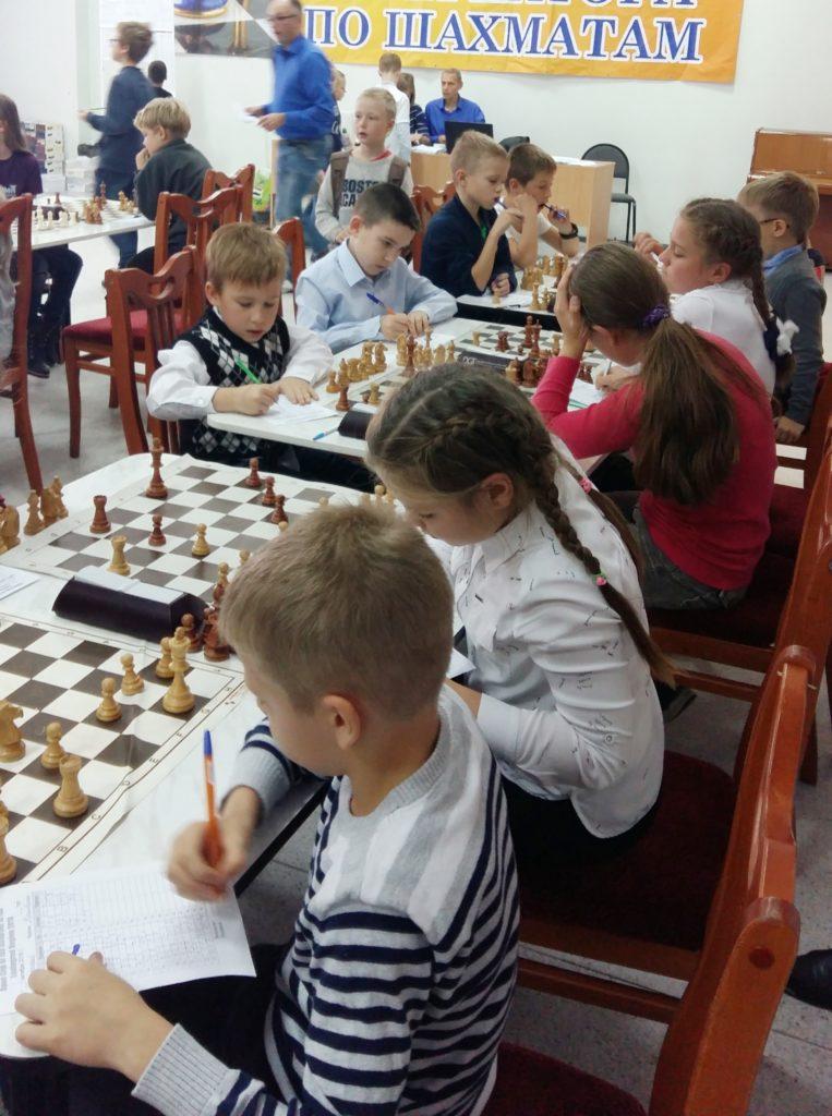 Соревнования по шах-м На приз Центра Ладога