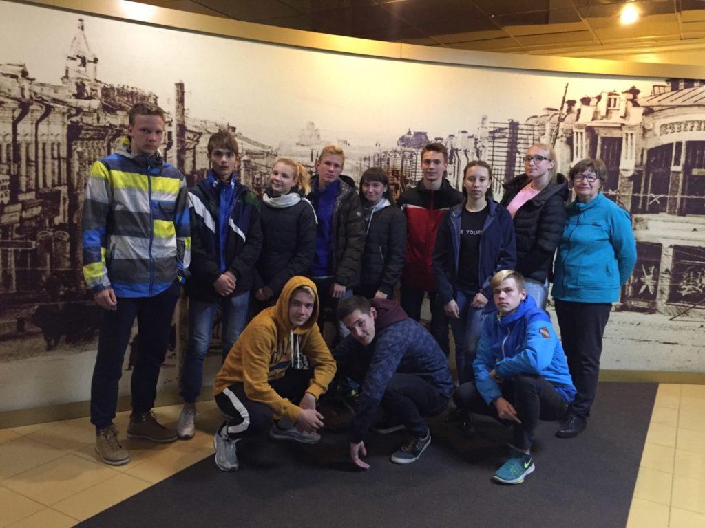 команда Ленинградской области по легкой атлетике на Гимназиаде
